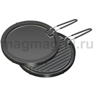 Сковорода двусторонняя с антипригарным покрытием для круглых грилей Magma